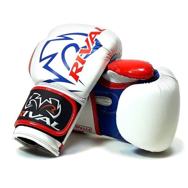Color Plateado RIVAL RB7 Guantes de Boxeo